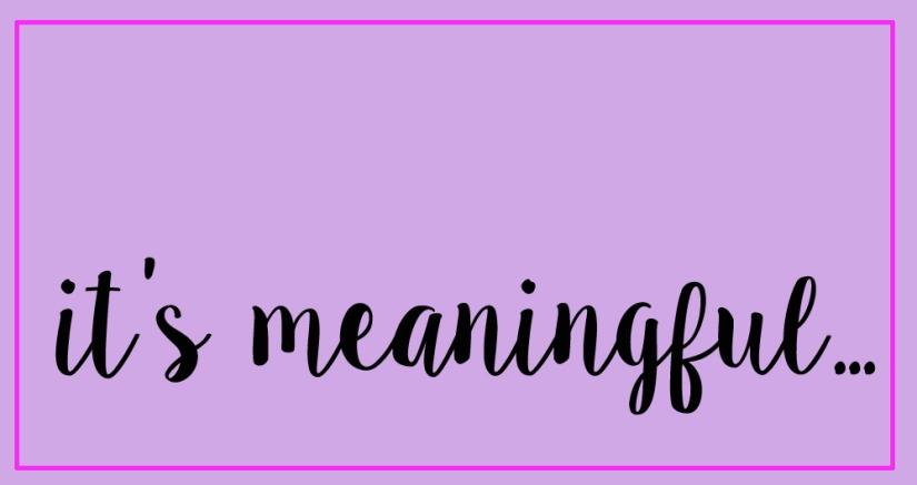ItsMeaningfulbox